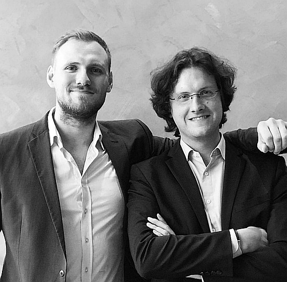 The Strive Founders, Alexander Schäfer and Christopher Probst